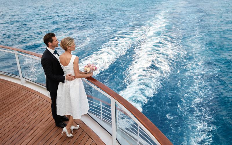 Heiraten auf hoher See