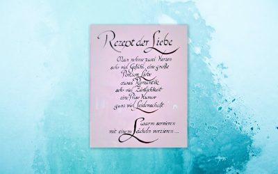 Rezept der Liebe